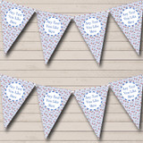 Blue Teddy Bear Welcome Home New Baby Bunting