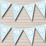 Blue Grows And Balloons Welcome Home New Baby Bunting