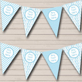 Blue Grows And Balloons Boy Welcome Home New Baby Bunting