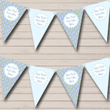 Blue Fish Welcome Home New Baby Bunting