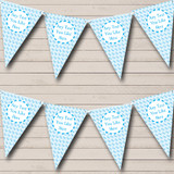 Blue Dolphin Welcome Home New Baby Bunting