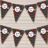 Chalk Style Floral Retirement Party Bunting