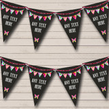 Bright Chalk Style Retirement Party Bunting