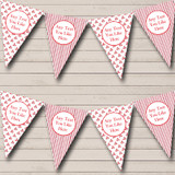 Candy Sweet Stripe Christmas Decoration Bunting