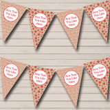 Candy Canes & Snowflakes Christmas Decoration Bunting