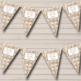 Brown Bauble Decorations Christmas Decoration Bunting