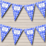 Blue Bauble Decorations Christmas Decoration Bunting