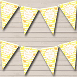 Yellow Orange Easter Chick Bunny Easter Party Bunting