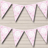 Pink Easter Bunny Easter Party Bunting
