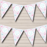 Pink Blue Easter Chick Bunny Easter Party Bunting