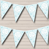 Blue Easter Bunny Easter Party Bunting