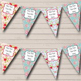 Floral Shabby Chic Garden Tea Party Bunting