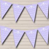 Regal Lavender Wedding Venue or Reception Bunting