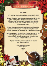 Traditional Santa Personalised Christmas Letter From Santa