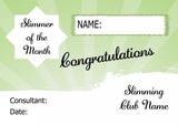Fruit And Veg Slimmer Of The Week Personalised Diet Certificate