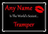 Tramper Personalised World's Sexiest Certificate