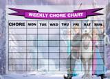Weekly Chore Rota Task Reward Chart Frozen