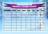 Weekly Chore Rota Task Reward Chart Frozen Olaf
