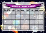 Weekly Chore Rota Task Reward Chart Space