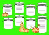 Lime Green Weekly Meal Diet Menu Planner