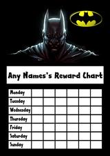 Batman Star Sticker Reward Chart