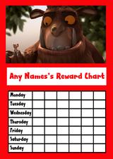 The Gruffalo Star Sticker Reward Chart