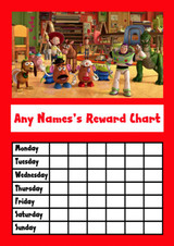 Toy Story Star Sticker Reward Chart