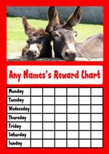 Two Cheeky Donkey's Star Sticker Reward Chart