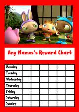 Waybuloo Star Sticker Reward Chart
