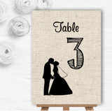 Cotton Chic Personalised Wedding Table Number Name Cards