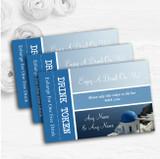Greece Santorini Personalised Wedding Bar Free Drink Tokens