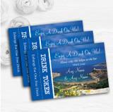 Malta Abroad Personalised Wedding Bar Free Drink Tokens