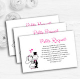 Bride And Groom Personalised Wedding Gift Cash Request Money Poem Cards