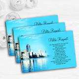 Miami Florida Personalised Wedding Gift Cash Request Money Poem Cards