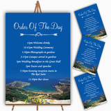 Malta Abroad Personalised Wedding Order Of The Day Cards & Signs