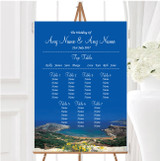 Malta Abroad Personalised Wedding Seating Table Plan
