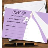Lilac Bride RSVP Cards