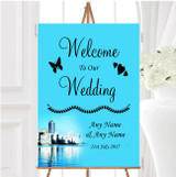 Miami Florida Personalised Any Wording Welcome To Our Wedding Sign
