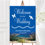 Malta Abroad Personalised Any Wording Welcome To Our Wedding Sign