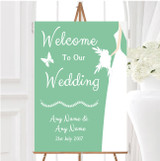 Green Bride Personalised Any Wording Welcome To Our Wedding Sign