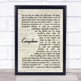 Fleetwood Mac Everywhere Quote Song Lyric Print