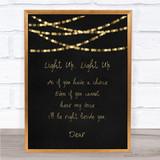 Leona Lewis Run Song Lyric Quote Print