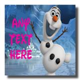 Olaf Frozen Coaster