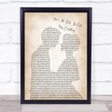 Barry White You're The First The Last My Everything Song Lyric Man Lady Print