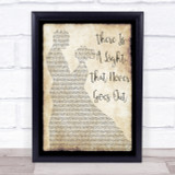 The Smiths There Is A Light That Never Goes Out Dancing Song Lyric Quote Print