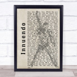 Queen Innuendo Shadow Song Lyric Quote Print