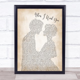 Leo Sayer When I Need You Man Lady Bride Groom Wedding Music Gift Poster Print