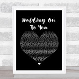 Twenty One Pilots Holding On To You Black Heart Music Gift Poster Print