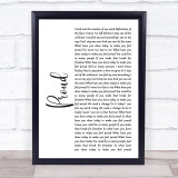 Heather Small Proud White Script Music Gift Poster Print