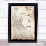 Florence + The Machine You've Got The Love Man Lady Dancing Music Gift Poster Print